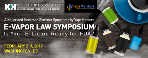 E-Vapor Law Symposium – Early Bird Registration Still Available, Save $500