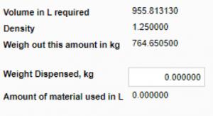 InstantGMP Dynamic Fields Calculator Screenshot